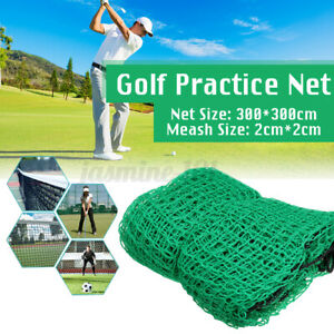 300x300cm Golf Übungsnetz Golfnetz Trainingsnetz Target Net Training Feld Grün