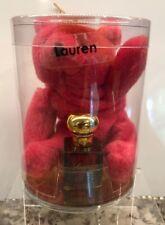 Ralph LAUREN EDT Original Cosmair Red 1/8 Oz Mini VTG Rare Bear Ornament Eau