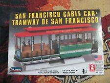 lindberg #72162 1/25 San Francisco Cable Car model KIT-new in the box