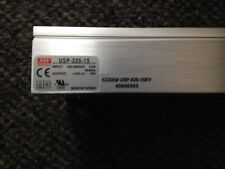 AMS LED Sign USP-225-15  15 VDC Power Supply Meanwell Adaptive Micro Systems