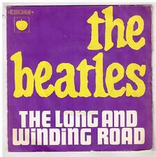 """The BEATLES     The long and winding road            7""""  45 tours EP"""