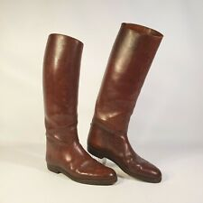 Antique Vintage Leather Riding Boots
