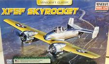 1/48 Scale Minicraft Models 'XF5F Skyrocket' Kit #11660