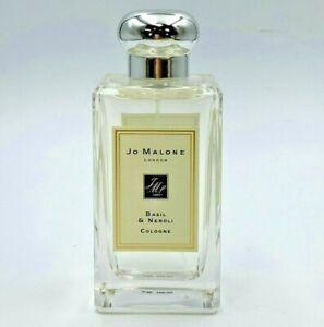 Jo Malone Basil & Neroli Perfume 3.4 Oz / 100 ml cologne spray New 100% Authenti