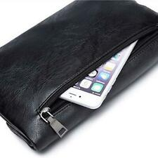 Fashion Men's PU Leather Envelope Bag Casual Clutch Bags Handbag New LA