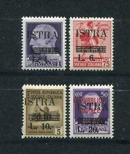 YUGOSLAVIA 1945 SLOVENIA & ISTRA COAST MICHEL 34-37 PERFECT MNH