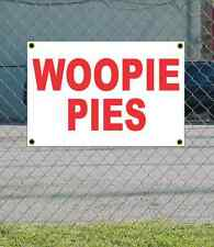 2x3 WOOPIE PIES Red & White Banner Sign NEW Discount Size & Price FREE SHIP