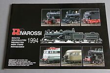 X541 RIVAROSSI Train catalogue 1994 42 pages 29,7*20,8 cm F + tarif 1994
