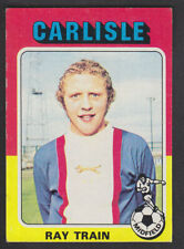 Topps - Footballers (Red Back) 1975 - # 211 Ray Train - Carlisle