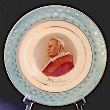 Vintage St Pope John XXIII 23rd Saint Catholic Papa Juan XXIII 10'' Decor Plate