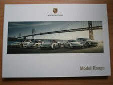 FOLLETO de rango de Porsche 2011 de diciembre