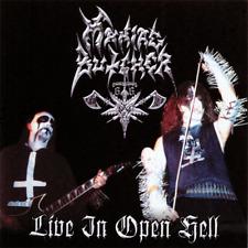 "Maniac Butcher - Live In Open Hell 12"" LP black metal"