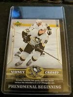Sidney Crosby - Mario Penguins 2006 Upper Deck Phenonenal Beginning Hockey #7