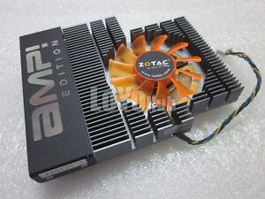 ZOTAC GT240 AMP VGA Fan with Heatsink Leadtek FX570 FX1700 PLD06010B12HH 4-Pin