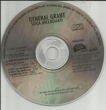 GENERAL GRANT Soca Billboard 7TRX w/ RARE REMIXES CD single GEORGE MICHAEL trk