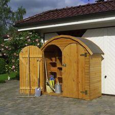 "Geräteschrank ""Roma groß""- Gartenhaus - Gerätehaus B195XT83XH184cm Kiefernholz"