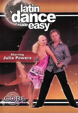 Latin Dance Made Easy with Julia Powers ~ DVD