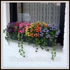 Balkonblumen Carnation Balkon Seidenblumen Kunstblumen Blumen Groß Auswahl NEU
