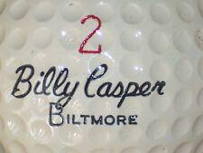 1962 BILLY CASPER BILTMORE #2 SIGNATURE LOGO GOLF BALL