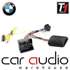 T1 JVC BMW 1 3 5 6 7 Series Mini CanBus Steering Wheel & Phone Interface Adaptor