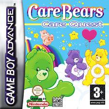 2GAMES: CARE BEARS-GLÜCKSBAERCHEN+BIENE MAJA-SÜSSES GOLD+FÜR NINTENDO GBA,DS