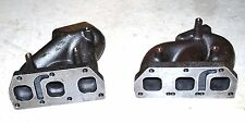 Twin Cast Turbo Manifold VW GOLF Jetta VR6 2.8L 3.2L 24V T25 T2 Flange
