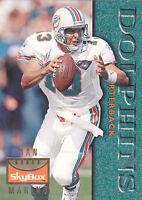 1995  DAN MARINO - Skybox Premium Football Card # 72- Miami Dolphins