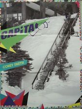 CAPITA SNOWBOARD 2006 COREY SMITH promo poster/catalog New Old Stock