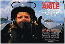 Coupure de presse Clipping 1999 (4 pages) Caroline Aigle Pilote de Chasse