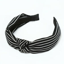 Women's Soft Headband Alice Band Top Knot Fashion plain Headband Twist Hairband