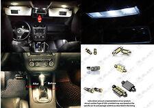 Volkswagen Jetta MKV MK5 LED Interior Light Kit Package + License Plate LED