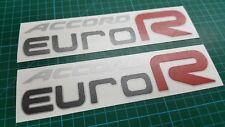 Accord CL7 CL9 K20 LA Euro R 200mm decals stickers JDM EDM  Euro-R