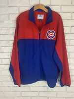 Mens MLB Chicago Cubs Full Zip Jacket NWT LG
