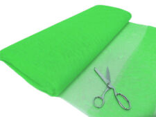 1m Fluorescent Flo UV Green Dress Making Net Tulle Tutu Skirt Craft Fabric