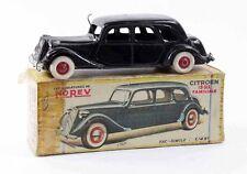 1/43 ème  NOREV originale CITROEN TRACTION 15/6 / jouet ancien