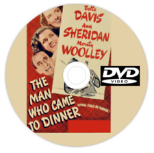 The Man Who Came to Dinner DVD 1942 Bette Davis Ann Sheridan Comedy Romance