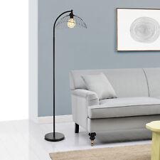 [lux.pro] Stehleuchte 157cm Stehlampe Standleuchte Stand Lampe Metall Schwarz