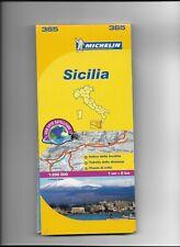 MICHELIN MAP OF SICILY, UNUSED