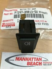 99-02 4RUNNER AUXILIARY DRIVING FOG LIGHT SWITCH PT297-89013-SW GENUINE TOYOTA