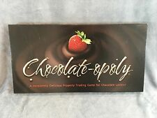 Chocolate-opoly chocolateopoly Chocolate Lovers Board Game NEW Sealed Pieces
