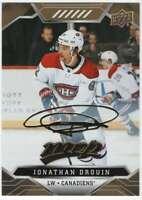 2019-20 Upper Deck MVP Hockey Gold Script #83 Jonathan Drouin Canadiens