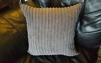 "18"" x 18"" Charcoal grey jumbo cord cushion cover. Why buy from DFS?"