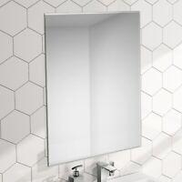 ENKI BM013 500 700 Mirror Bevelled Edge Living Bathroom Glass Frameless HORIZON