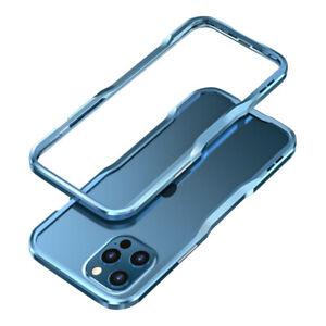 Luphie Incisive CNC Aluminum Metal Bumper Case Cover For iPhone 12 Mini Pro Max