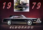 1979 Cadillac Eldorado, BLACK, Refrigerator Magnet, 40 MIL THICK