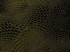 "Gold / Black 2 - Tone Galaxy Swirl Vinyl Fabric - Sold By The Yard - 54""/ 55"""