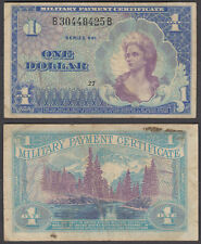 USA 1 Dollar ND 1968 (F-VF) Condition Banknote KM #M68 Series 661