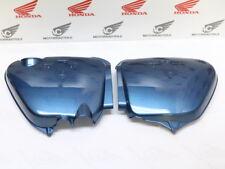 HONDA CB 750 FOUR k1 k2 side cover set Left + Right Side Planet Blue Metallic Repr