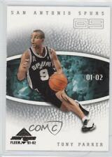 2001-02 Fleer Marquee /1500 Tony Parker #112 Rookie