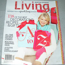 Martha Stewart Living Magazine December 2009 Wishing You a Sparkling Season